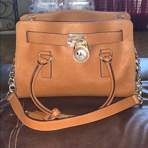Michael Kors Satchel Bag and Matching MK Wallet